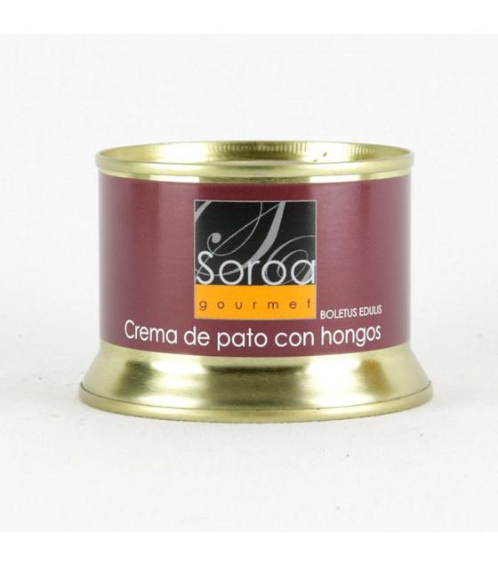 SOROA Crema De Pato con Hongos (with Boletus) - 130g (best before 04.11.24)