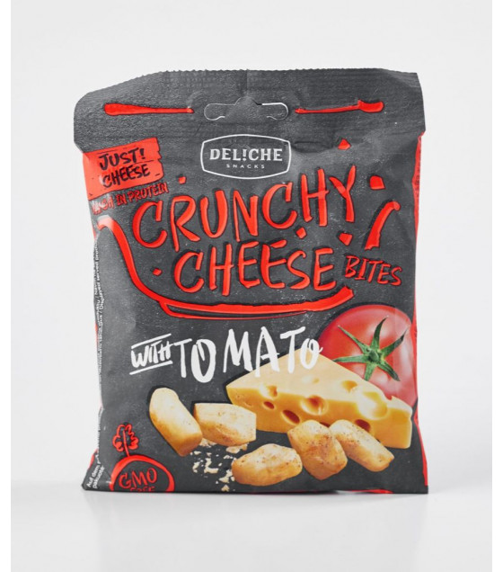 TOPFOOD Crunchy Cheese with Tomatoes - 35g (best before 06.01.21)