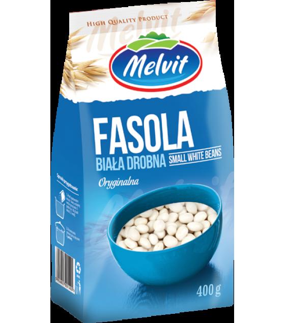 MELVIT Small White Beans - 400g (best before 20.05.22)