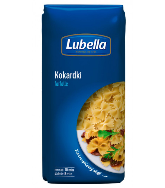 LUBELLA Pasta Farfalle (pasta No. 51) - 400g (best before 16.05.23)
