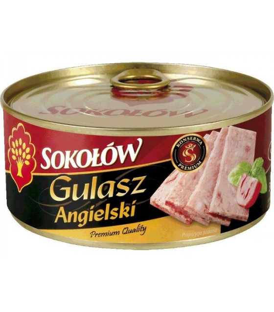 "SOKOLOW Chopped Pork ""Gulasz Angielski"" - 300g (best before 12.03.22)"