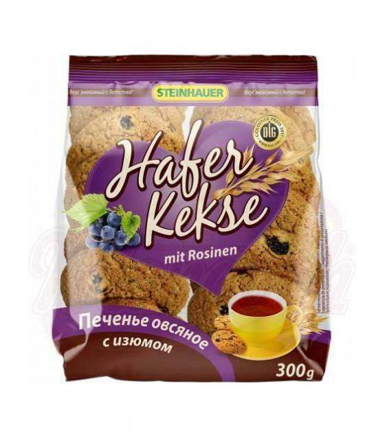STEINHAUER Oat Cookies with Raisins - 300g (best before 29.04.21)