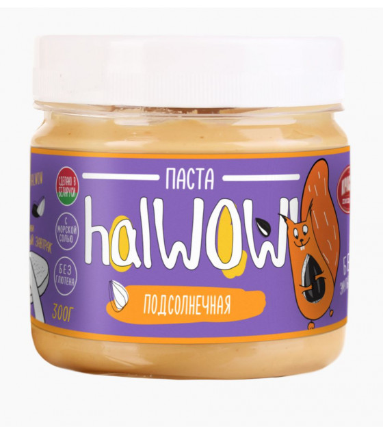 KRASNY PISHEVIK HALWOW! Sunflower Paste with Protein Concentrate - 300g (best before 22.12.20)