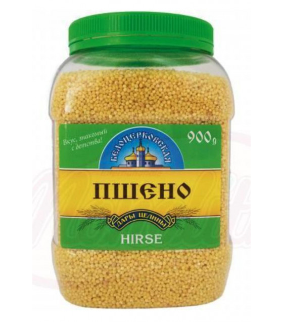 "STEINHAUER Millet Cereals ""Belotserkovskaya"" in Plastic Jar (Hirse) - 900g (best before 15.05.21)"