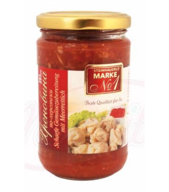 """STEINHAUER Spicy Sauce """"Hrenovina"""" - 285g (best before 12.10.22)"""