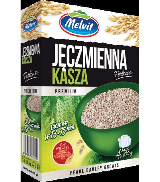 MELVIT Pearl Barley Groats - 4x100g (best before 31.12.21)