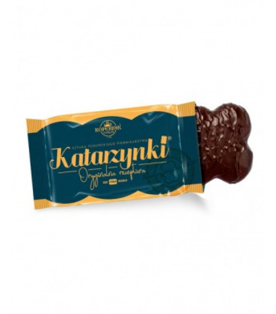 KOPERNIK KATARZYNKI Chocolate Covered Heart Gingerbread (1pcs) - 20,5g (best before 30.11.21)