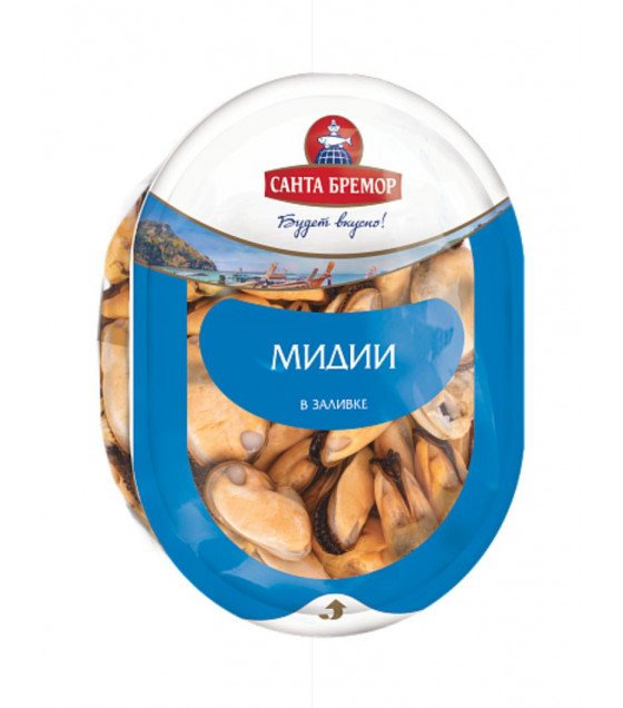 SANTA BREMOR Mussels in Brine - 200g (best before 16.12.20)