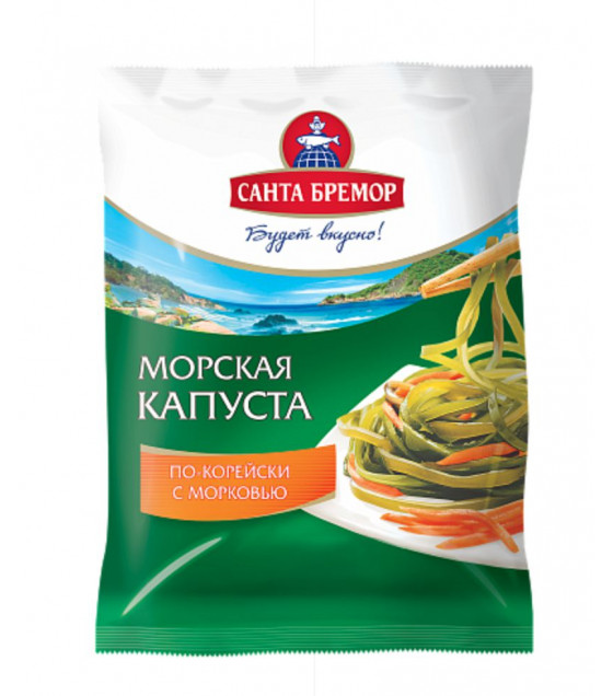 SANTA BREMOR Sea Kale Spicy with Carrots - 350g (best before 12.01.21)