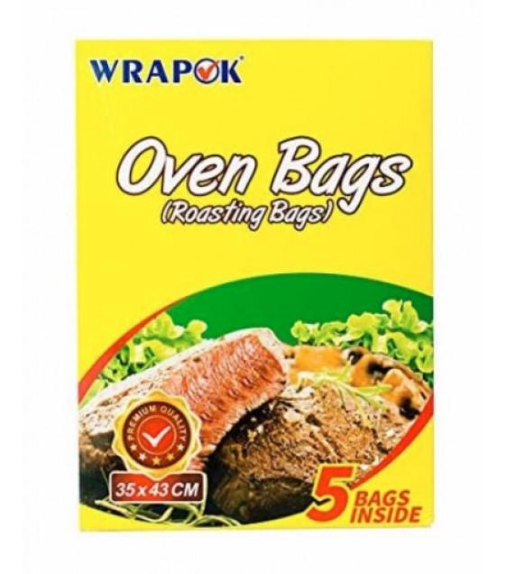 WRAPOK Roasting Oven Bags (35x43cm) - 5 Bags
