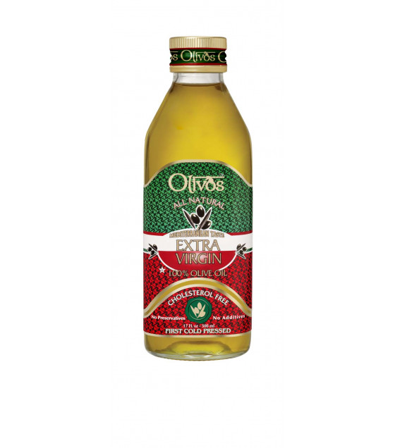 OLIVOS All Natural Extra Virgin Olive Oil - 500ml (best before 10.12.21)