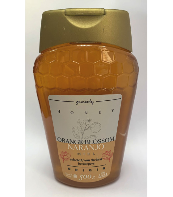 APISOL ORIGIN Orange Blossom Honey - 500g (best before 25.11.21)