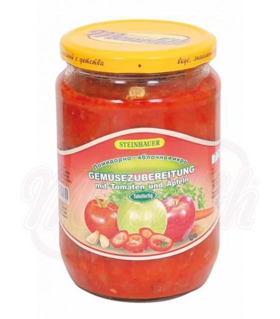 "STEINHAUER Vegetable Tomatoes and Apples Stew ""Pomidorno-yablochnaya Ikra"" - 720g (best before 14.09.22)"