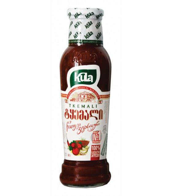 KULA Tkemali Georgian Classical Red Sauce - 365g (best before 25.02.23)