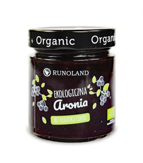 RUNOLAND ORGANIC Aronii Jam with Apple Juice - 200g (exp. 10.05.20)
