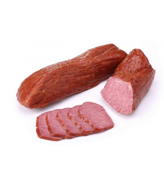 "BREST MEAT Smoked-Boiled Beef ""Po-Domashnemy"" (weight) - around 350g (best before 28.02.21)"