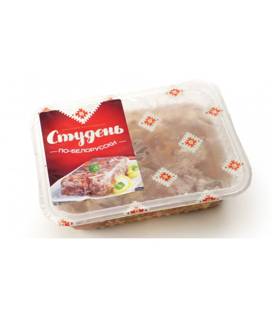 "BREST MEAT Meat Jelly Kholodets ""Studen Prazdnychnyi"" - 500g  (best before 18.12.20)"