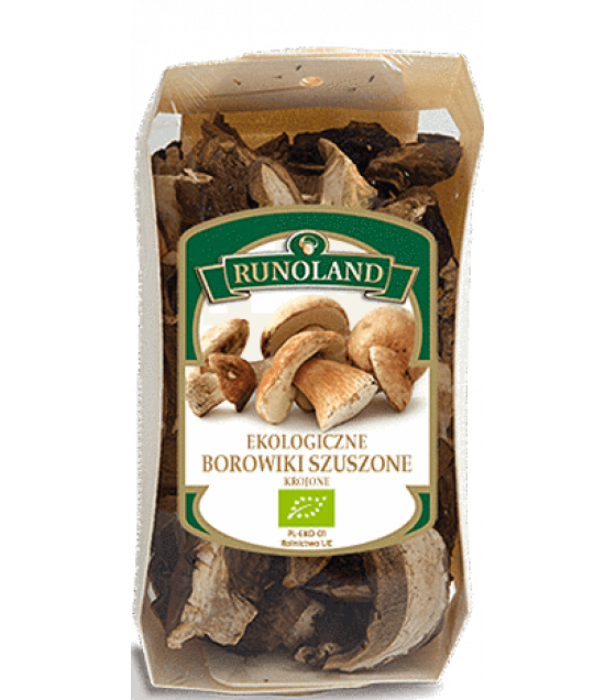 RUNOLAND ORGANIC Cepes (Dry Porcini) Dried Wild Mushrooms - 60g (exp. 10.09.21)