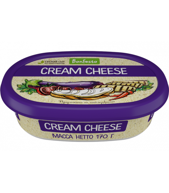 "BONFESTO Soft Cheese ""Cream Cheese"" with 70% fat - 170g (before before 16.04.21)"