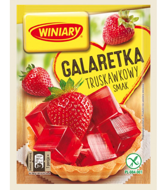 WINIARY Strawberry Jelly - 71g (best before 30.07.21)