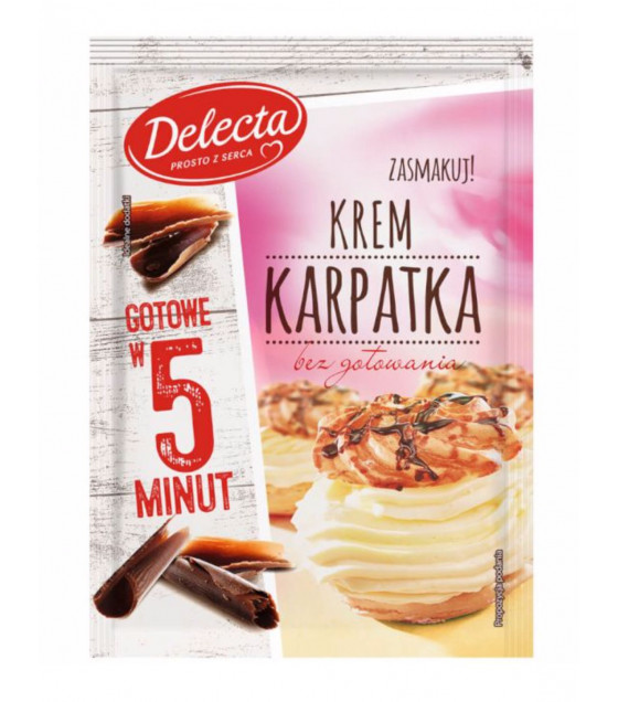 BAKALLAND Instant Karpatka Cake Filling - 145g (best before 30.08.22)