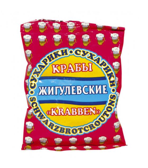 """STEINHAUER """"Jigulevskie"""" Croutons with Crab Taste - 50g (best before 30.04.21)"""