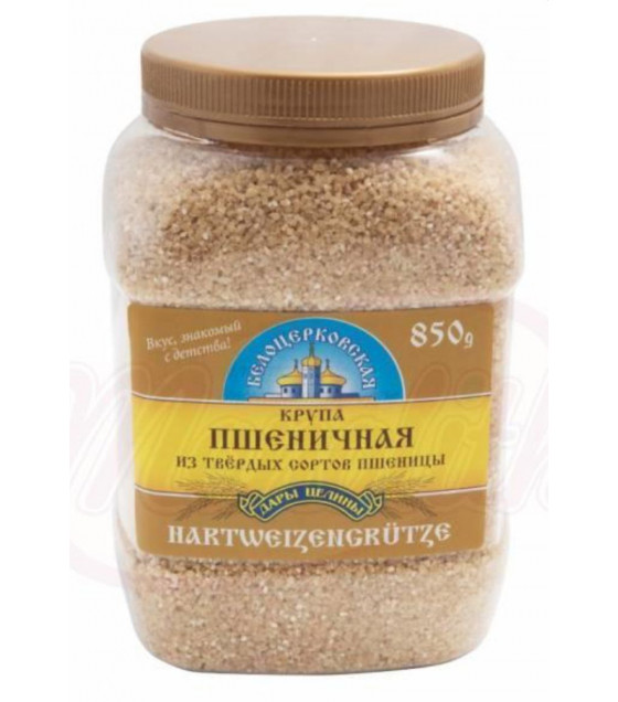 "STEINHAUER Durum Wheat Groats ""Belotserkovskaya"" (Plastic Jar) - 850g (best before 10.06.21)"