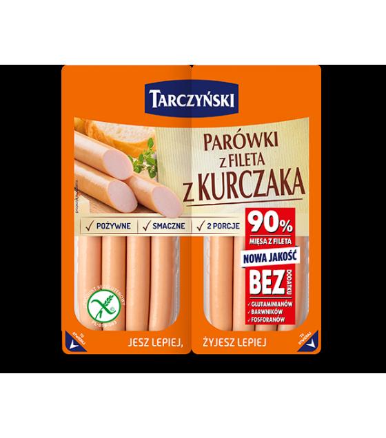 TARCZYNSKI Chicken Fillet Frankfurters (Parowki z Fileta z Kurczaka) - 180g (2x90g) (best before 30.08.20)
