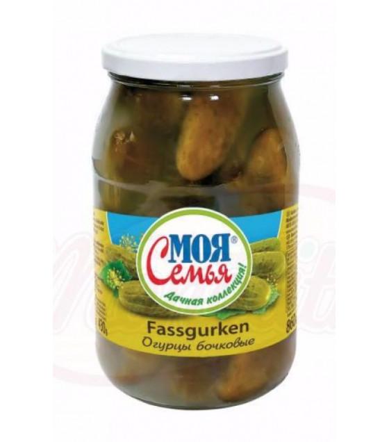 "STEINHAUER Fermented Cucumbers ""Moya Semiya Bochkovie"" (without vinegar) - 860g (best before 15.05.22)"
