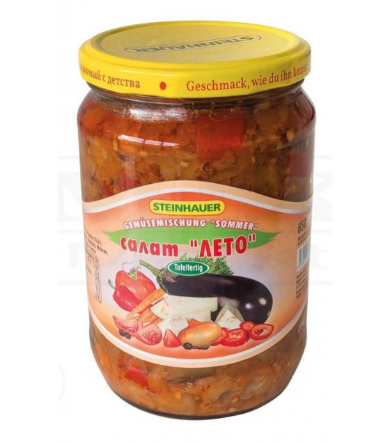 """STEINHAUER Vegetable Salad """"Leto"""" (Summer) - 720g (best before 04.09.22)"""