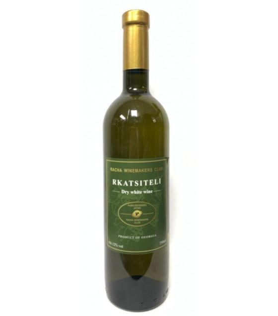 RACHA Rkatsiteli White Dry Wine (Georgia) 12% - 0,75L