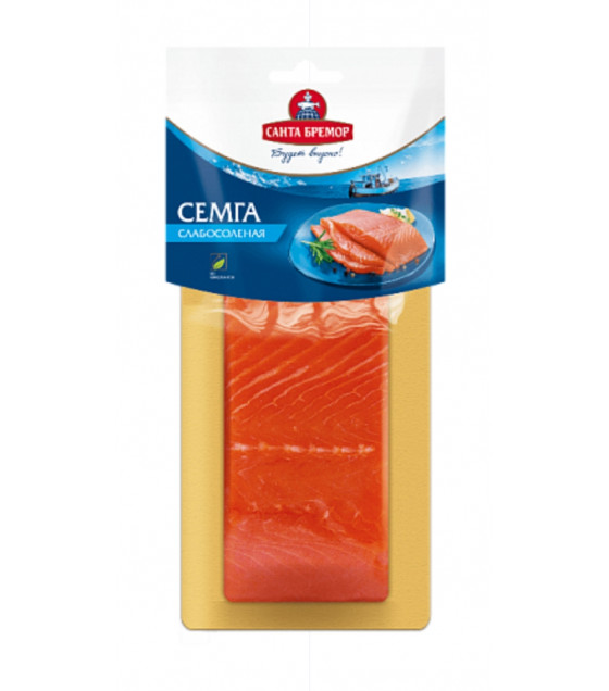 SANTA BREMOR Slightly Salted Salmon Fillet-Portion (Semga) - 200g (best before 21.11.20)