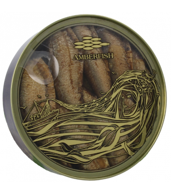 STEINHAUER AMBERFISH Sprats in Oil - 160g (best before 27.11.24)