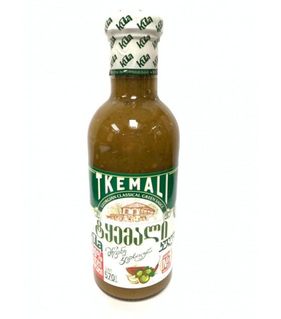 KULA Tkemali Georgian Classical Green Sauce - 570g (best before 28.01.23)