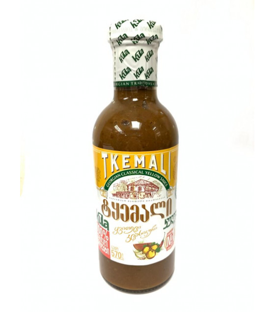 KULA Tkemali Georgian Classical Yellow Sauce - 570g (best before 06.03.23)