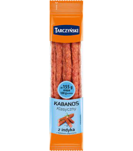 TARCZYNSKI Kabanos Classic Turkey Smoked Sausages (Z Indyka) - 200g (best before 14.12.20)