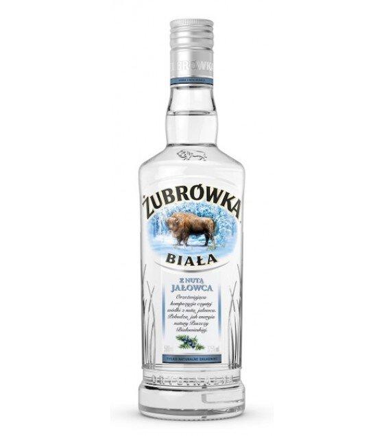 ZUBROWKA White With Juniper Vodka - 0,5L