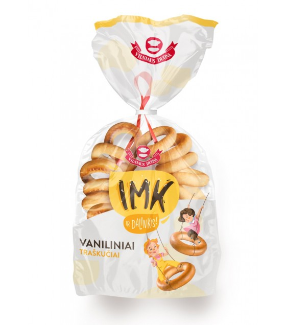 IMK Vanilla Rings (on a string) – 300g (best before 13.10.20)