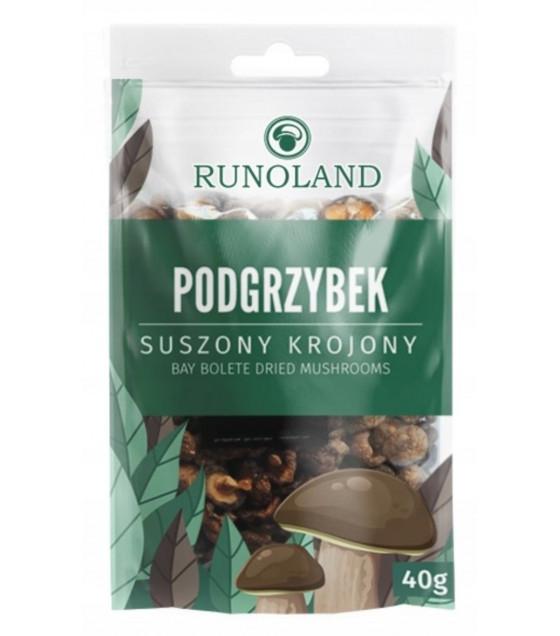 RUNOLAND Dried Bay Bolete Forest Mushrooms - 40g (best before 10.01.21)