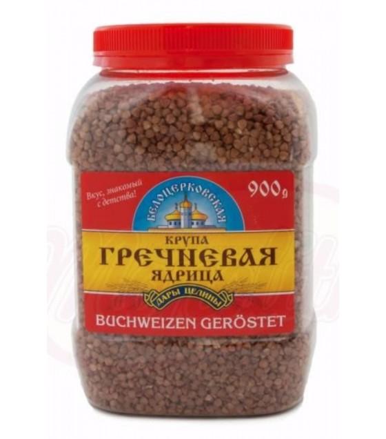 """STEINHAUER Roasted Buckwheat """"Belotserkovskaya"""" (Plastic Jar) - 900g (exp. 15.01.21)"""