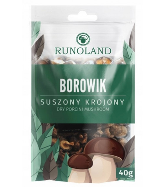 RUNOLAND Dried Porchini Forest Mushrooms - 40g (exp. 10.10.20)