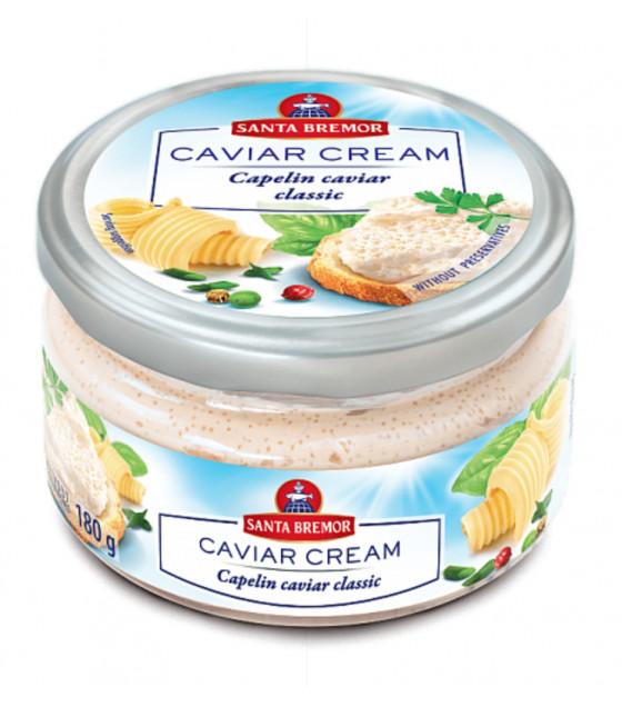 """SANTA BREMOR Delicacy Capelin Caviar Cream """"Classic"""" - 180g (best before 04.12.20)"""