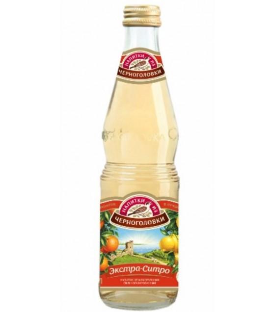 """NAPITKI IZ CHERNOGOLOVKI Soft Drink """"Extra-Sitro"""" - 0.5L (exp. 29.11.20)"""