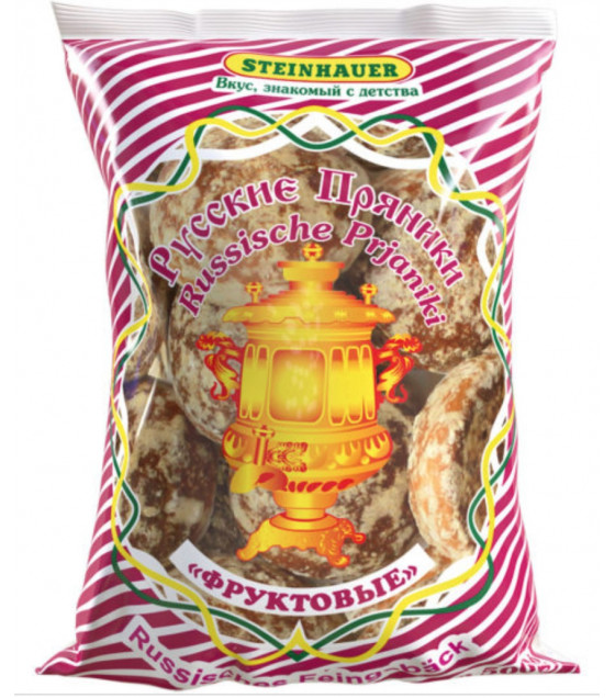 STEINHAUER Fruit Gingerbread - 500g (best before 02.10.20)