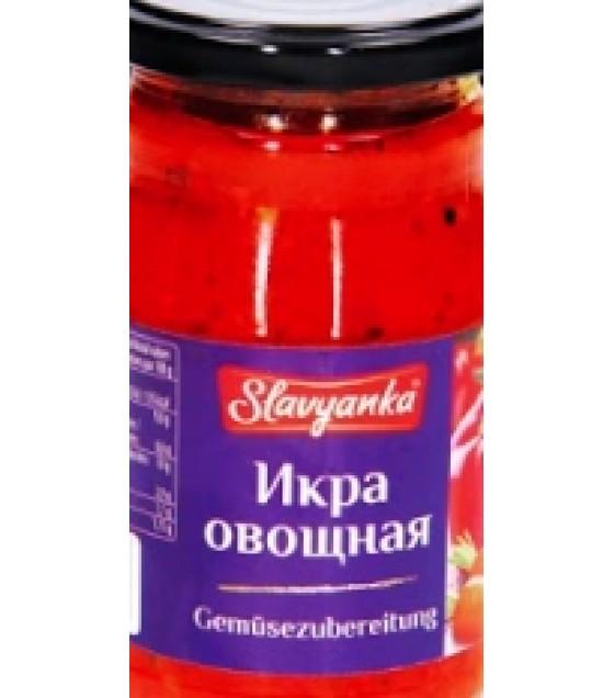 """STEINHAUER """"Slavyanka"""" Vegetable Spread """"Ikra Ovoshnaya"""" - 350g (exp. 22.06.21)"""