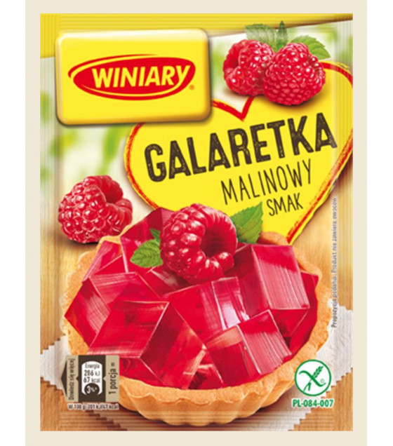 WINIARY Raspberry Jelly - 71g (best before 30.07.21)
