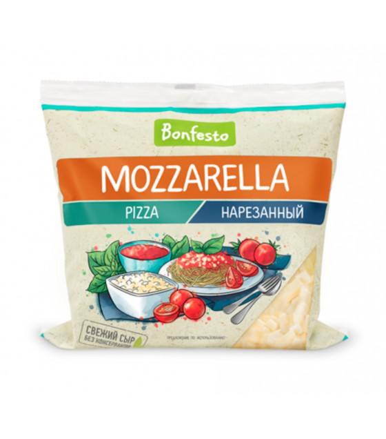 """BONFESTO Semi-hard Cheese """"Mozzarella Pizza"""" with 40% fat shredded (small bits) - 150g (before before 02.12.20)"""