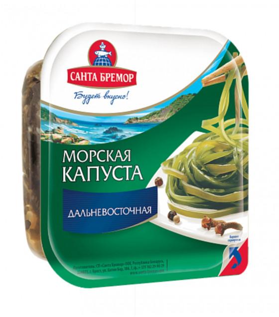 """SANTA BREMOR Sea Kale """"Dalnevostochnaya"""" - 150g (best before 27.12.21)"""