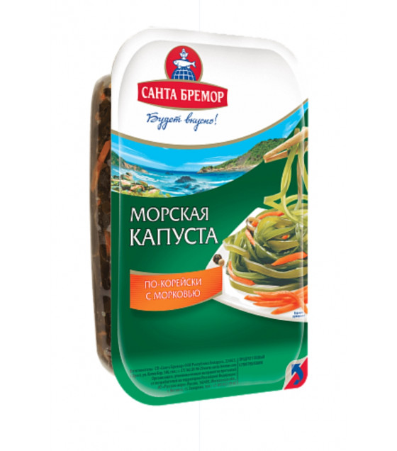SANTA BREMOR Sea Kale Spicy with Carrots - 250g (best before 05.10.20)