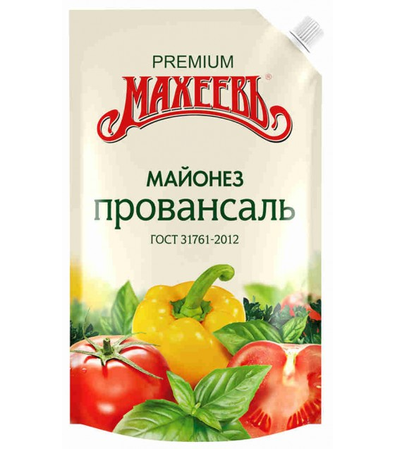 "MAKHEEV Mayonnaise Classic ""Provansal"" 50,5% - 400g (best before 26.11.20)"